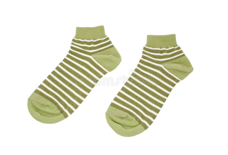 Download Pair Of Striped Socks Royalty Free Stock Photography - Image: 18619187