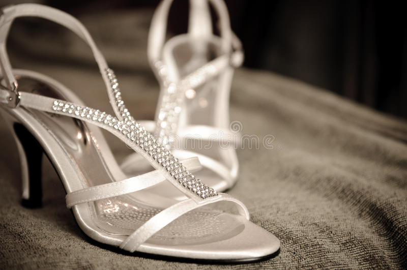 Download A Pair of Wedding Shoe stock photo. Image of heels, pair - 14924302