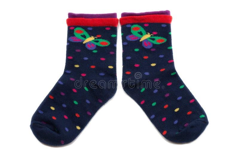 Paires de chaussettes photos libres de droits