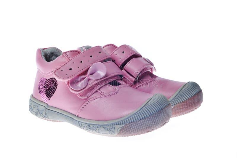 Paires de chaussures d'enfant photos libres de droits