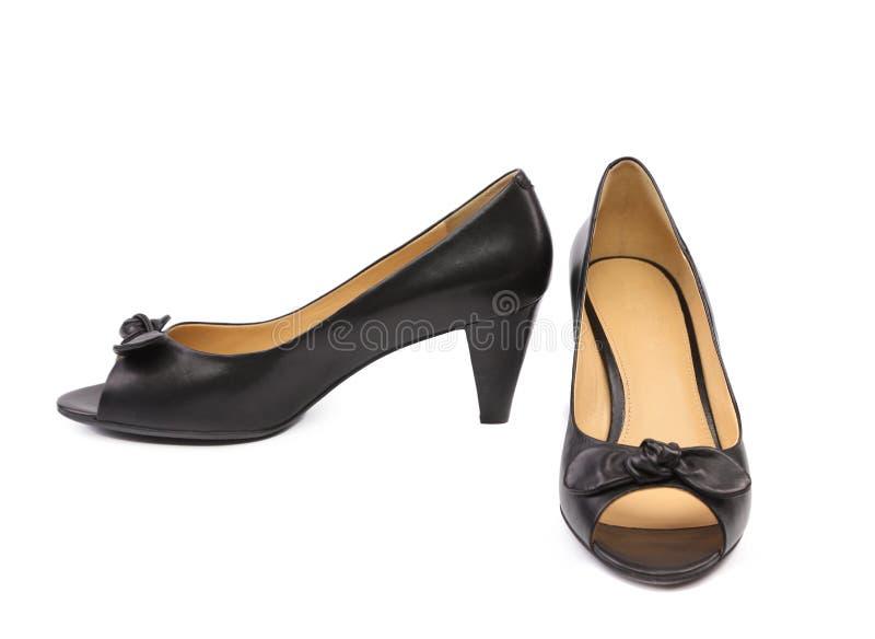 Paires de chaussures de femme de couleur. photo libre de droits