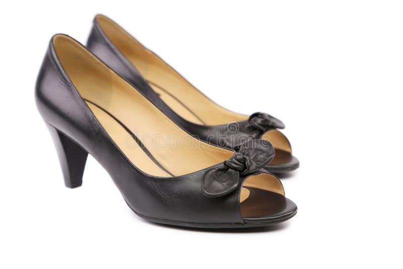 Paires de chaussures de femme de couleur photo stock