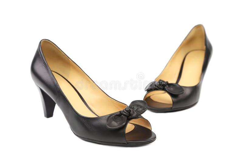 Paires de chaussures de femme de couleur photos libres de droits