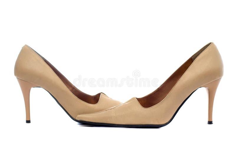 Paires de chaussures femelles image stock