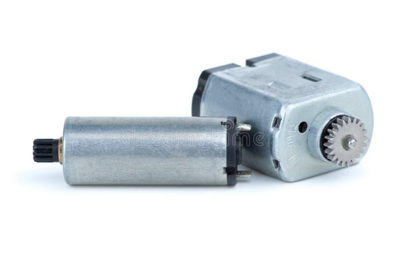 paires de moteurs électriques de C.C image libre de droits