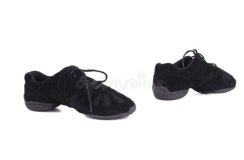 Paires noires de chaussures des hommes photographie stock