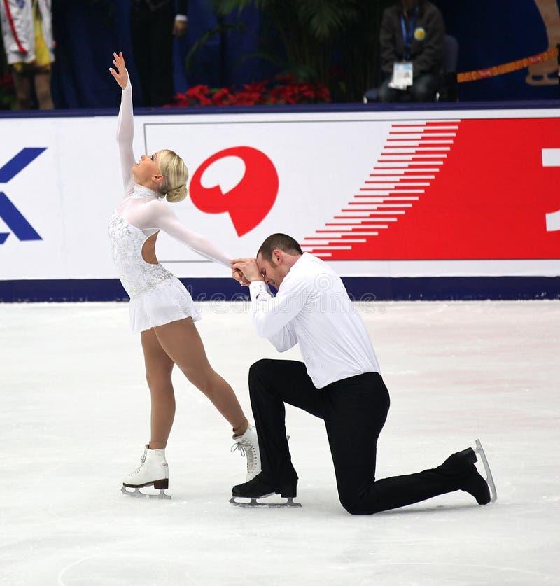 Pairs-Free Skating Editorial Image