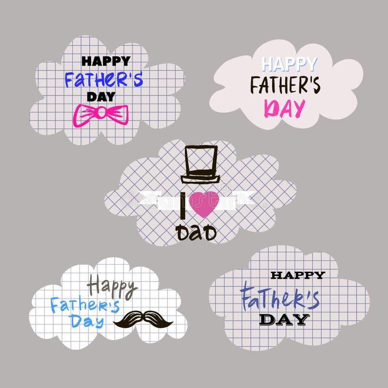 Pais Day9 ilustração do vetor