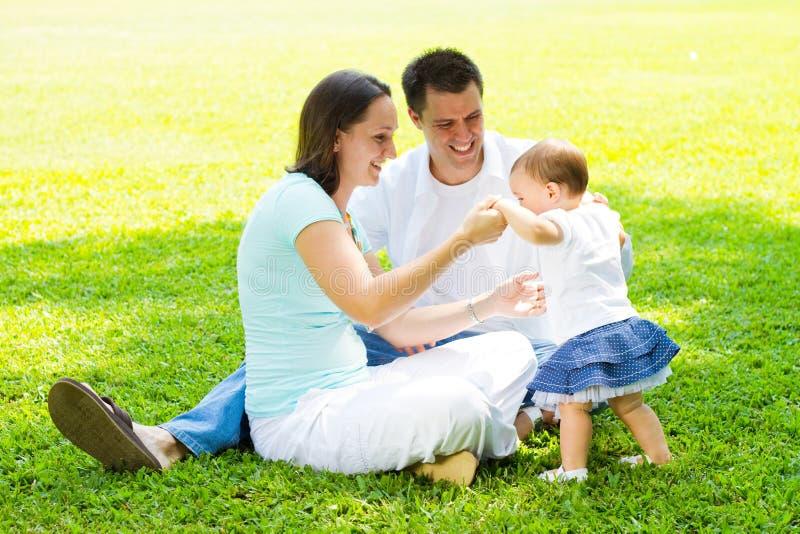 Pais e criança imagem de stock royalty free