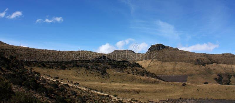 Paisagem andina, Los Andes, Colômbia foto de stock royalty free
