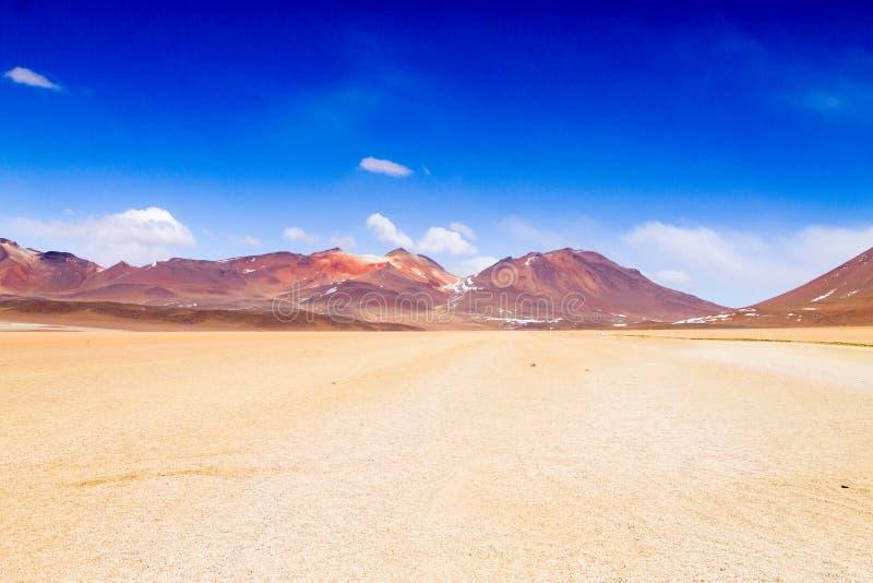 Paisagem boliviana bonita, Bolívia imagens de stock