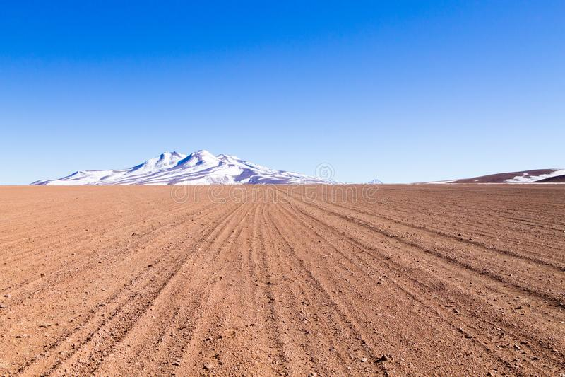 Paisagem boliviana das montanhas, Bolívia foto de stock