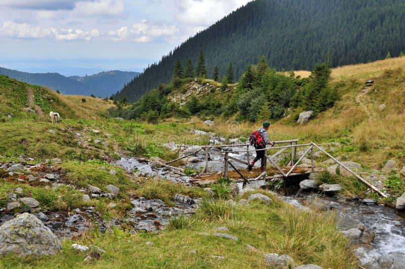 Paisagem bonita das montanhas fotografia de stock royalty free