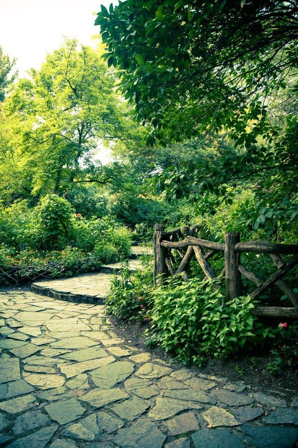Paisagem bonita do Central Park, New York City fotos de stock