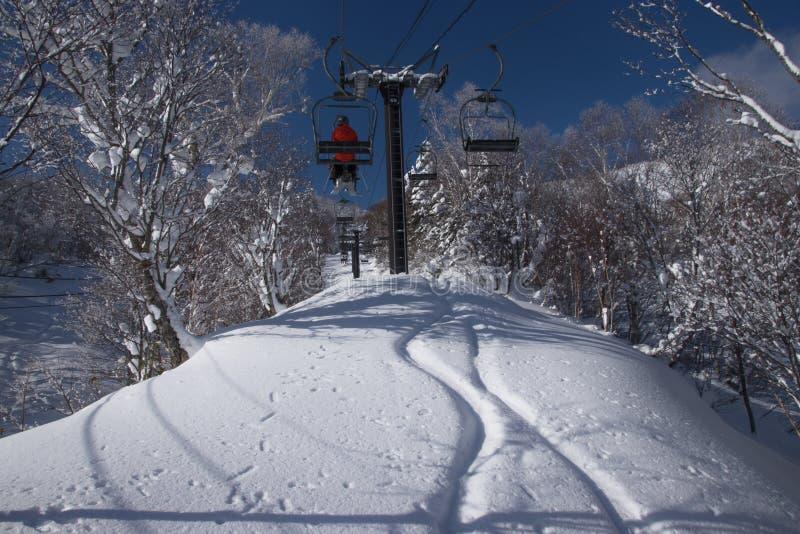 Paisagem bonita do japonês do inverno fotografia de stock royalty free