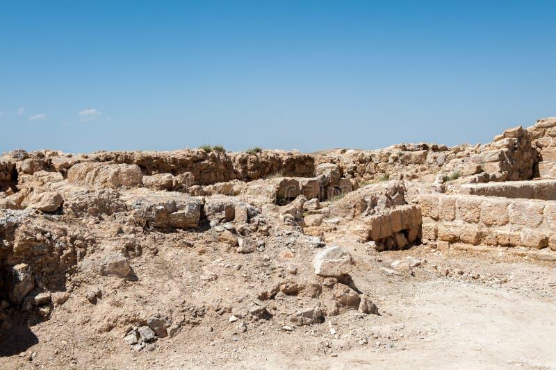Paisagem bonita Jordânia fotografia de stock