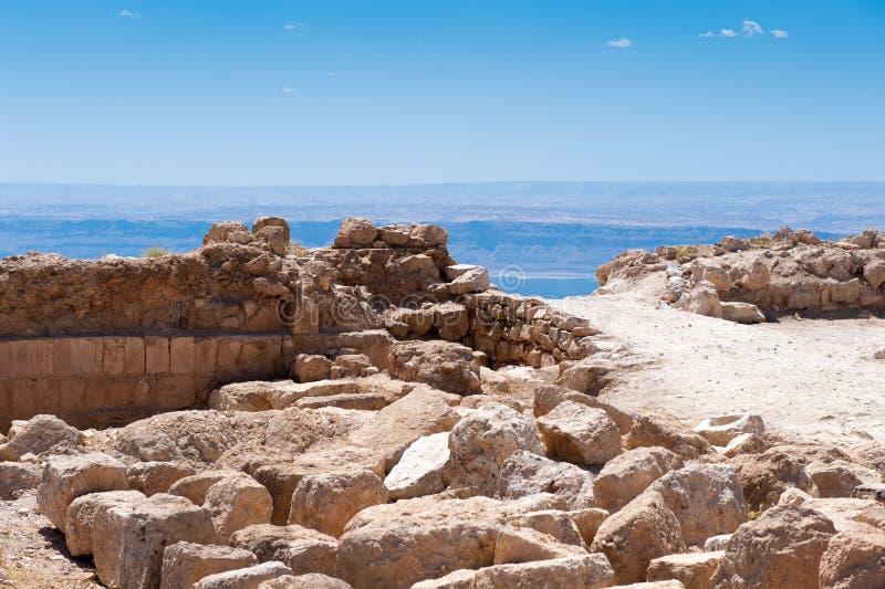 Paisagem bonita Jordânia fotos de stock