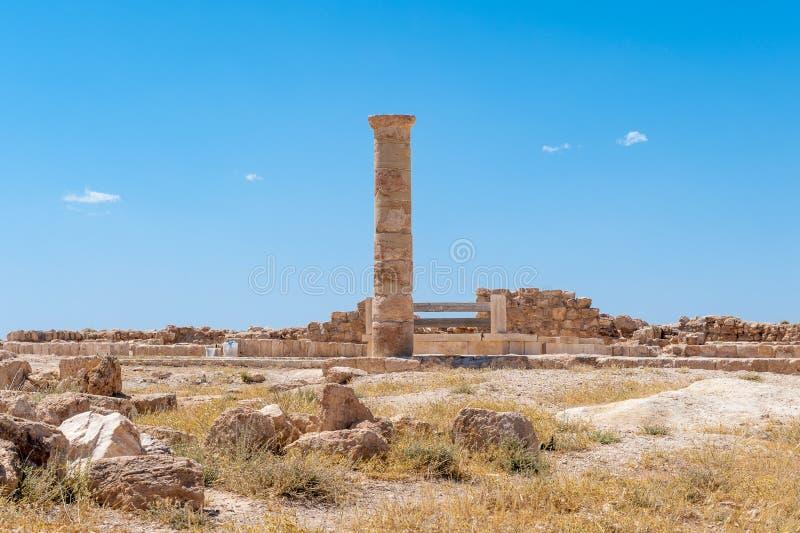 Paisagem bonita Jordânia imagem de stock