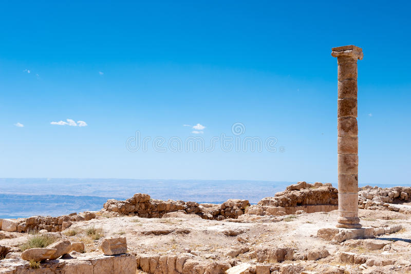 Paisagem bonita Jordânia fotografia de stock royalty free