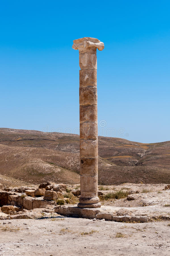 Paisagem bonita Jordânia fotos de stock royalty free