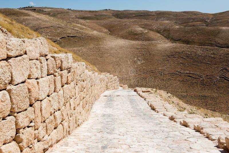 Paisagem bonita Jordânia imagens de stock