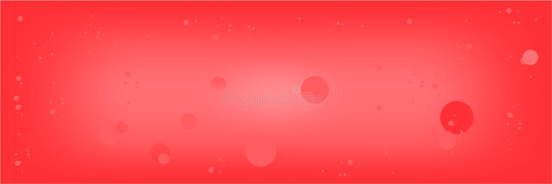Paisagem borrada vermelha da cor brilhante lisa do fundo do sumário ilustração stock