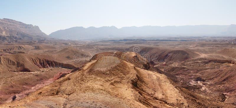 Paisagem cénico do deserto foto de stock
