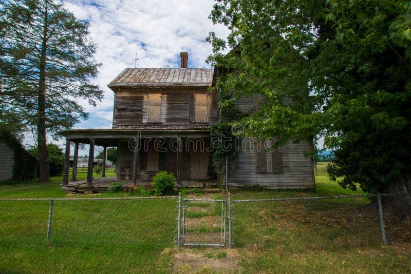 Paisagem cênico de Elkton, Virgínia em torno do nacional de Shenandoah fotografia de stock royalty free