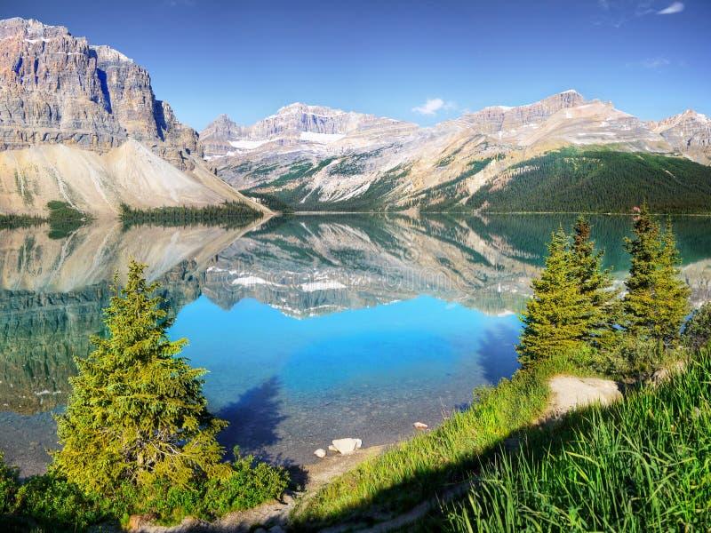 Paisagem canadense, parque nacional de Banff foto de stock royalty free