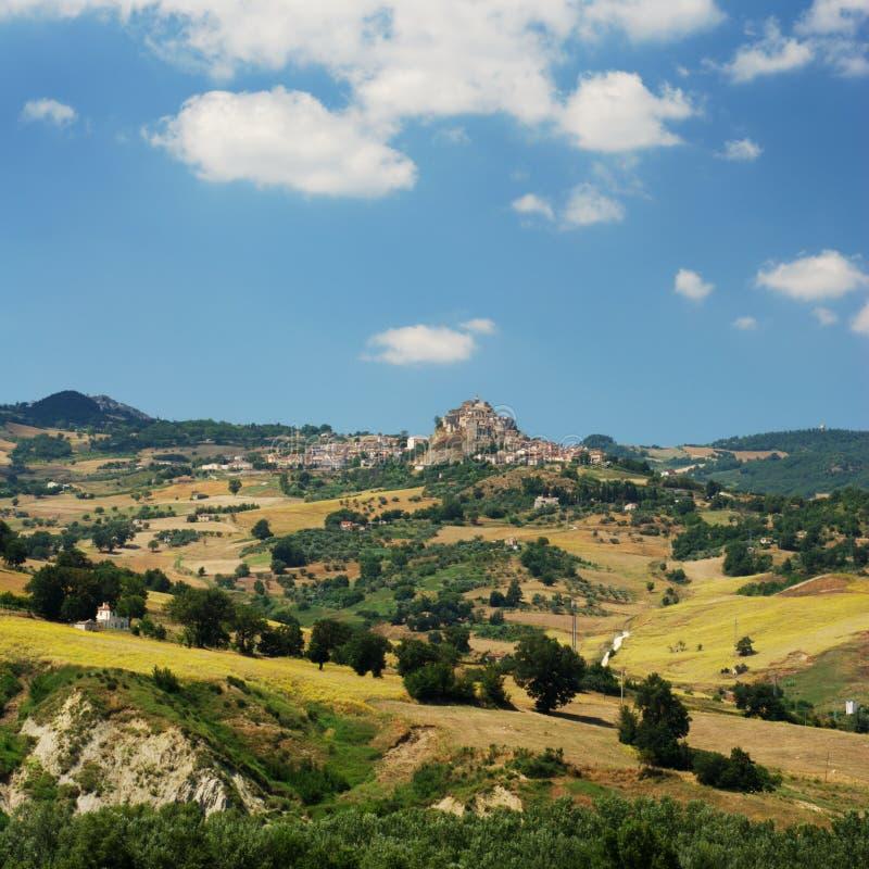 Paisagem Center de Italy (região Molise) fotos de stock