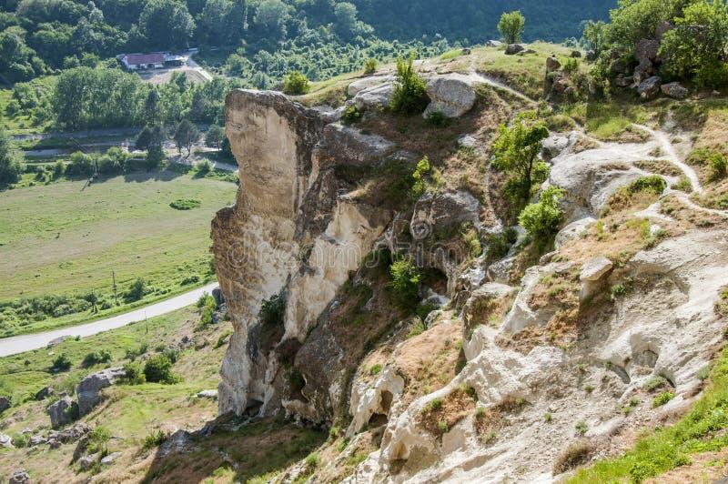 A paisagem crimeana fotografia de stock royalty free