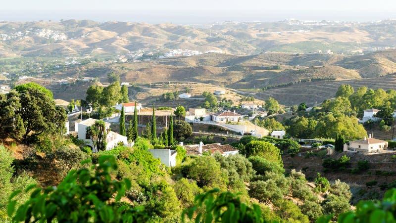 Paisagem da Andaluzia imagem de stock royalty free