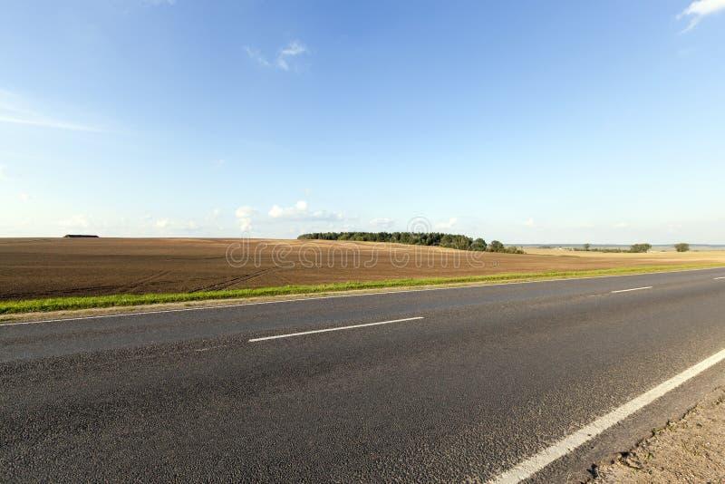 Paisagem da estrada imagens de stock royalty free