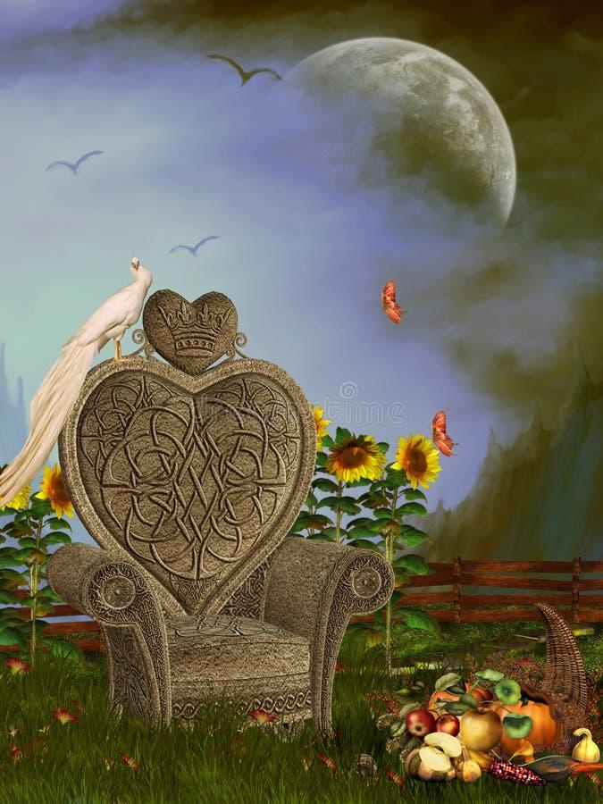 Paisagem da fantasia ilustração stock
