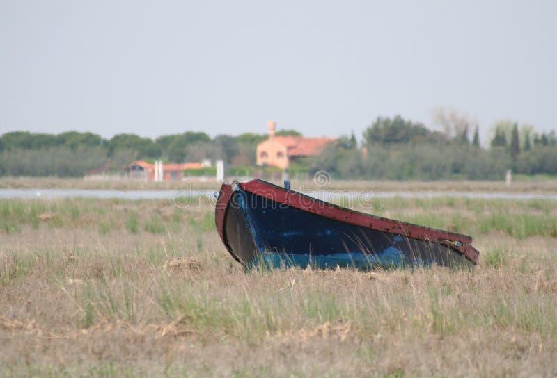Paisagem da lagoa de Veneza foto de stock royalty free