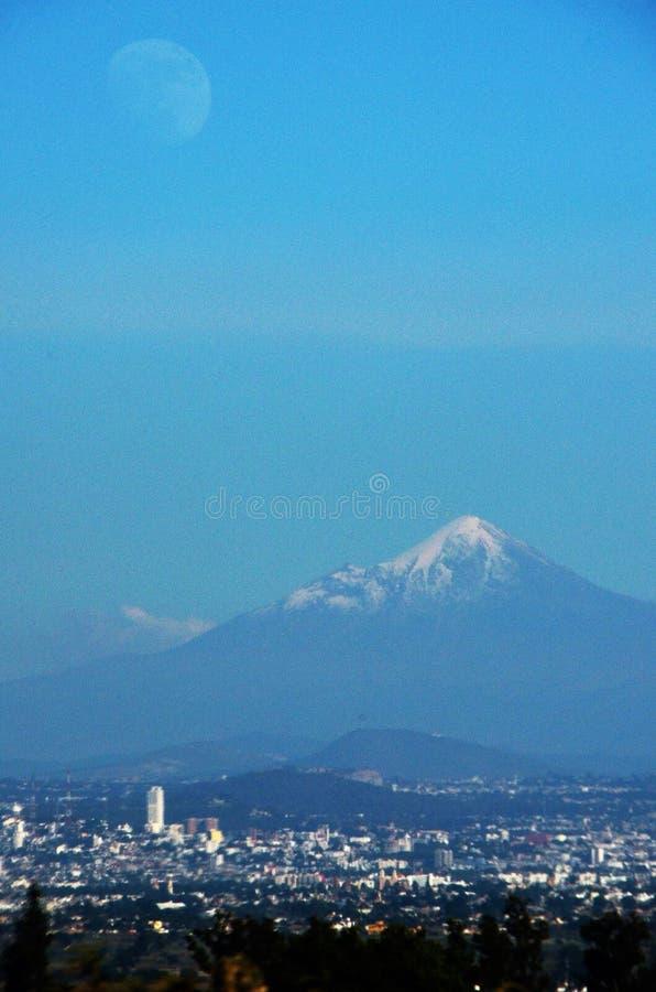 Paisagem da montanha de Orizaba foto de stock