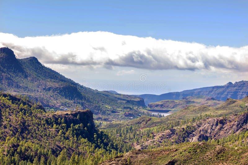 Paisagem da montanha do gran canaria imagem de stock royalty free