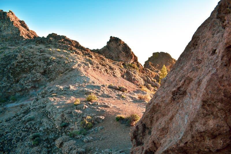 paisagem da montanha da rocha foto de stock royalty free