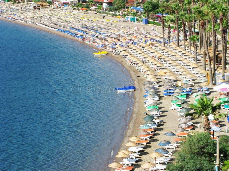 Paisagem da praia imagens de stock royalty free