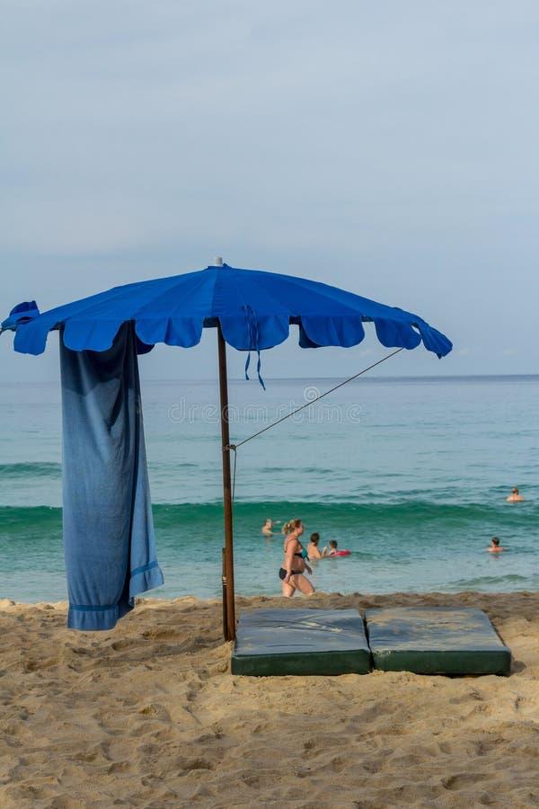 Paisagem da praia em Phuket imagens de stock royalty free
