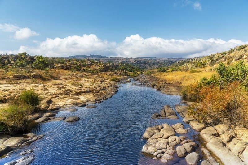 Paisagem da rota do panorama de África do Sul imagens de stock