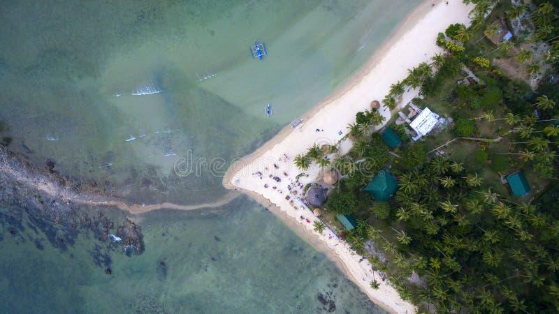 Paisagem das fotos das ilhas filipinos imagem de stock