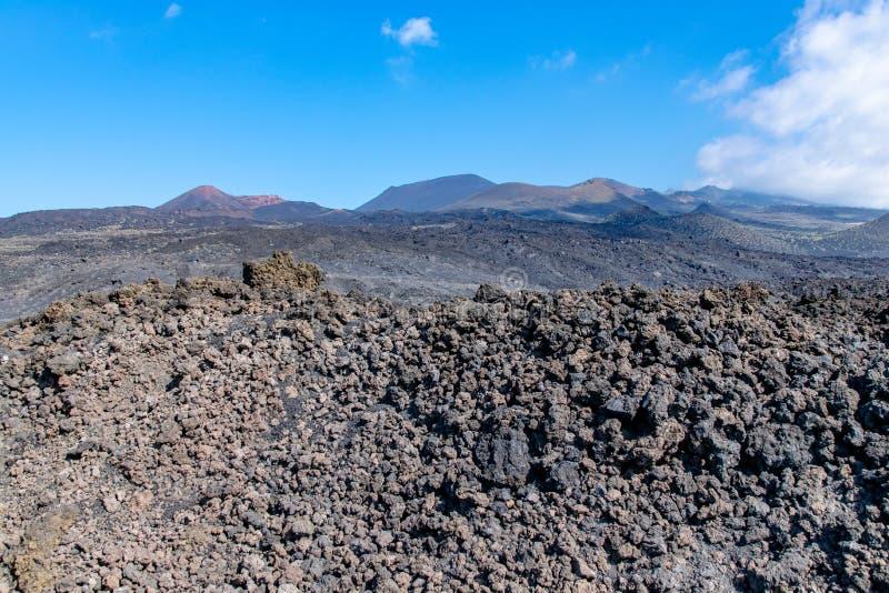 paisagem das Ilhas Canárias fotografia de stock