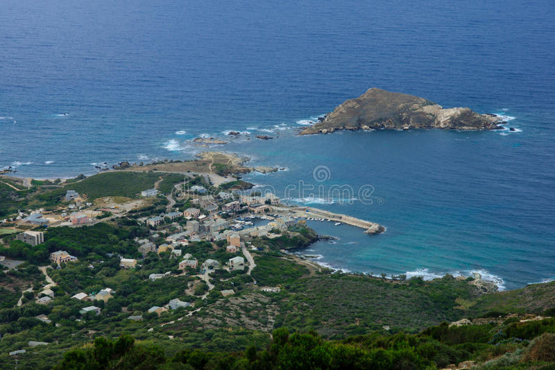 Paisagem de Cap Corse imagem de stock royalty free