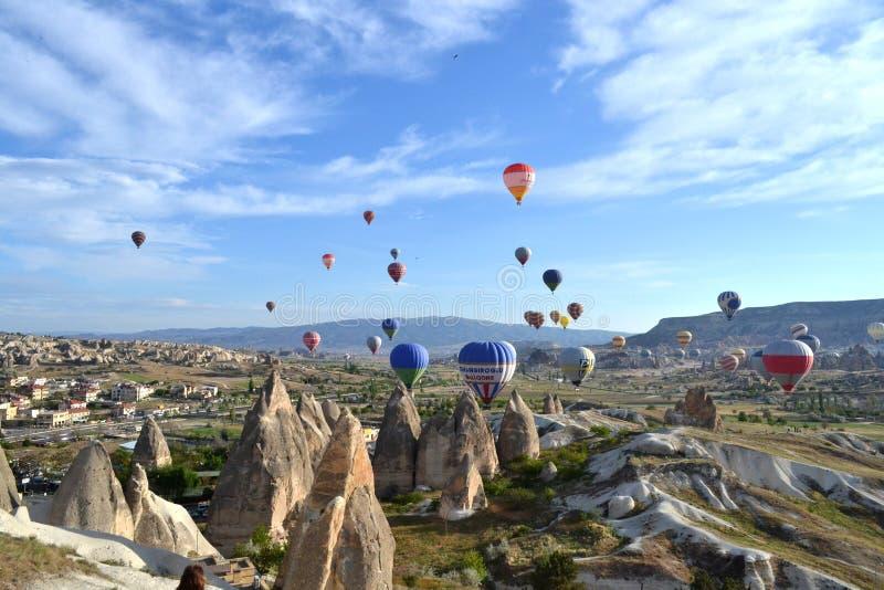 Paisagem de Cappadocia imagem de stock royalty free