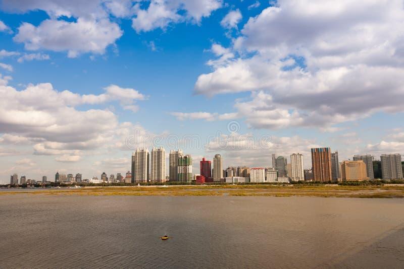 Paisagem de China fotografia de stock royalty free