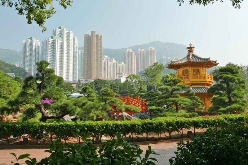 Paisagem de HONKG KONG fotos de stock royalty free