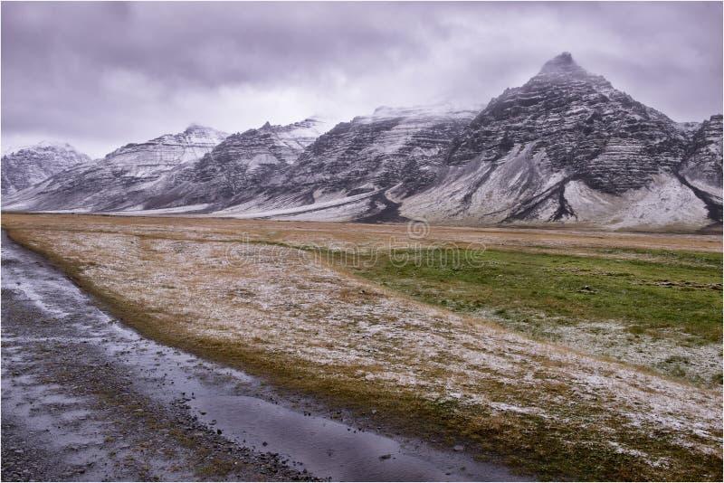 Paisagem de Islândia Horgsland imagens de stock royalty free
