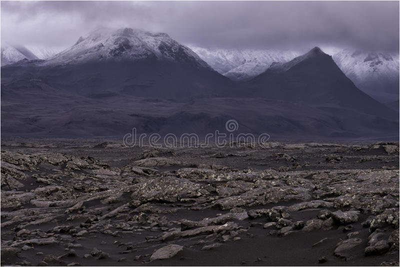 Paisagem de Islândia Laugarvatn imagem de stock royalty free