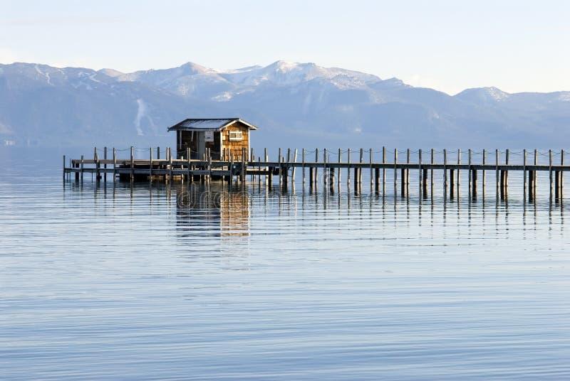 Paisagem de Lake Tahoe foto de stock royalty free